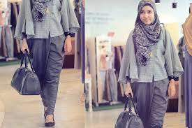 Model Baju Kerja Wanita Hijab Modern 2016 yang Makin Elegan