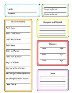 Nanny+Schedule+Template+for+Baby | To download the nanny chart as ...