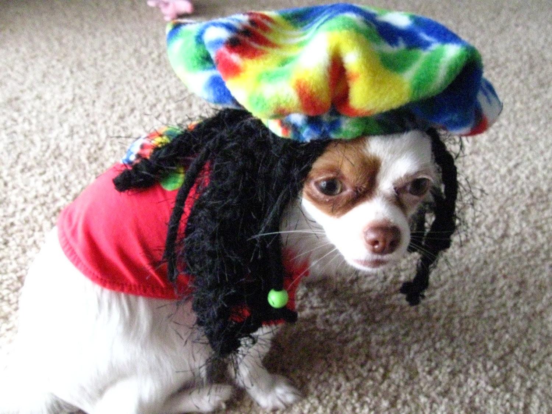 Rasta Dog Halloween Costume Hat - Exclusive