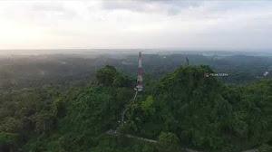 Jual Footage Aerial Drone Video Udara Gunung Kampek Bangkalan (FHD)