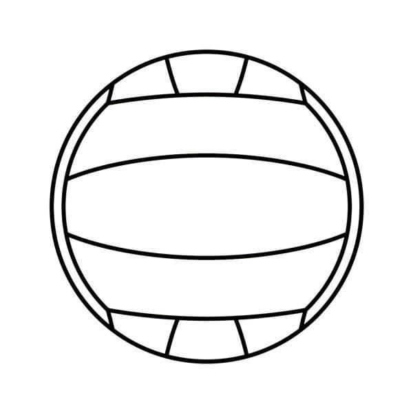 Disegno Pallone Da Colorare.Disegni Da Colorare E Stampare Palla Da Pallavolo Coloradisegni