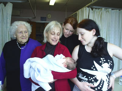 Photo of The Four Generations.