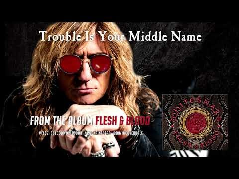 """Whitesnake - """"Trouble Is Your Middle Name"""""""