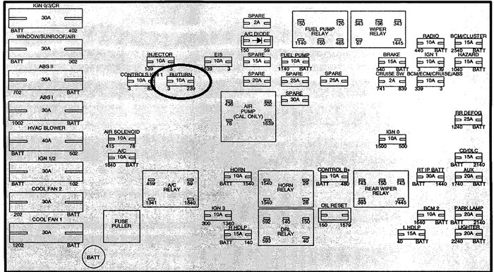 Wiring L300 Diagram Saturn 2002alternator