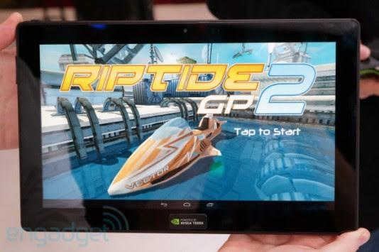 Nvidia Tegra 4: dimostrazione con il videogame Riptide GP 2 [VIDEO]