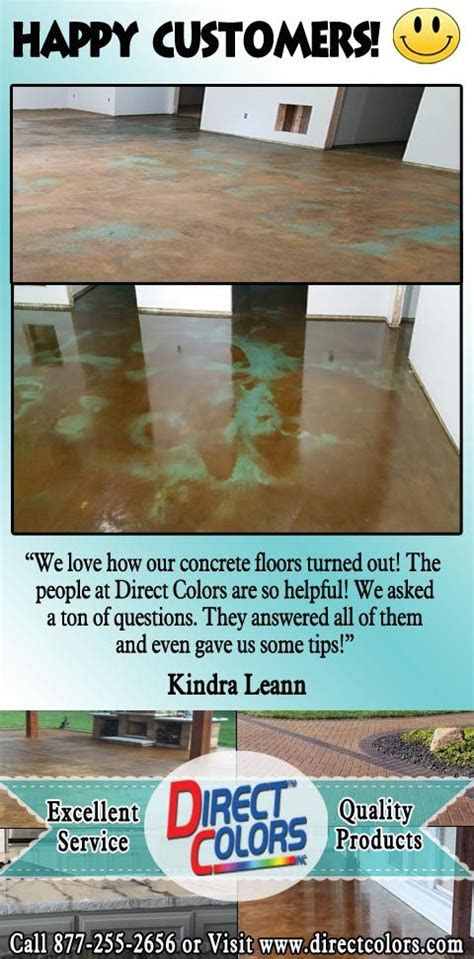 pin  acid stained concrete floors