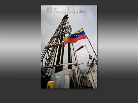 computer desktop wallpaper oil rig  venezuelan flag