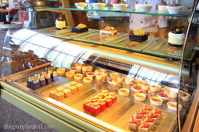 Cakes at the Dessert Section