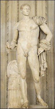 Resultado de imagen de emperor augustus naked
