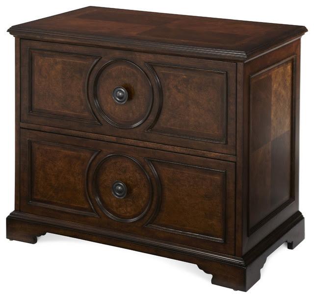 AICO Bella Cera Lateral File - traditional - filing cabinets and