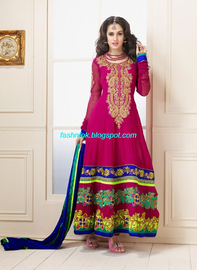Anarkali-Umbrella-Wedding-Brides-Fancy-Party-Wear-Frocks-2013-Latest-Fashionable-Clothes-11