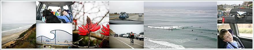 coastal road trip