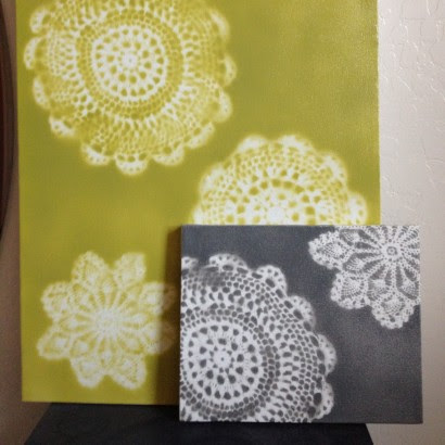 Craft Of The Day: Unique Wall Art Made From Doilies