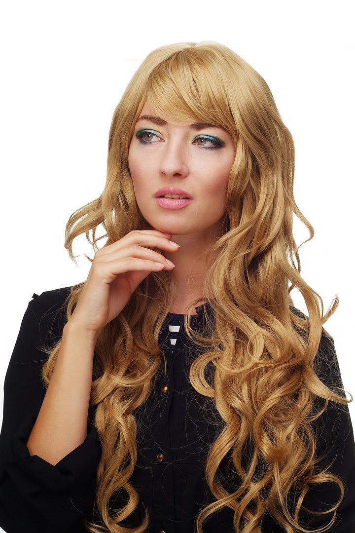 Perücke Goldblond Lang Wallendes Haar 9204s 24b