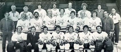 1976-77 Minnesota Fighting Saints team, 1976-77 Minnesota Fighting Saints team