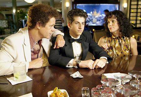 Danny (Steven Kaplan), Ernie (William H Macy) and Beth(Cheryl Hines)