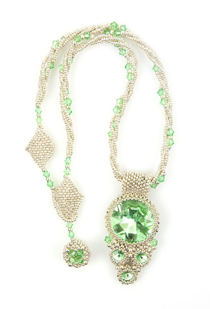 My Beadworld: *GREEN CRYSTALS*
