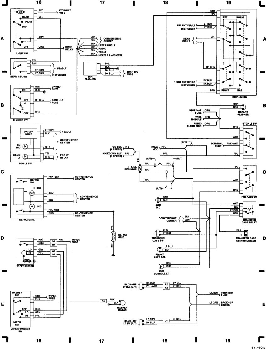 2001 Gmc Sierra Wiring Diagram