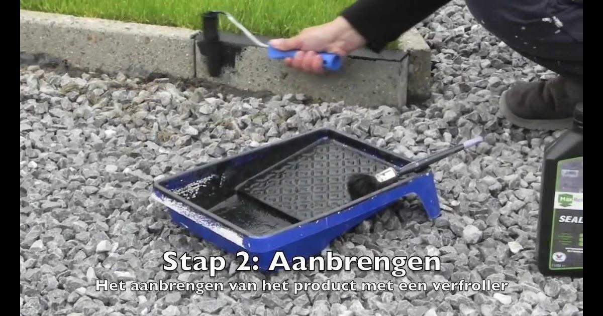 Spiksplinternieuw tuintegels verven met betonverf YA-63