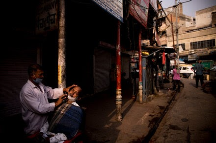 India's capital region will ease some lockdown restrictions on Monday.