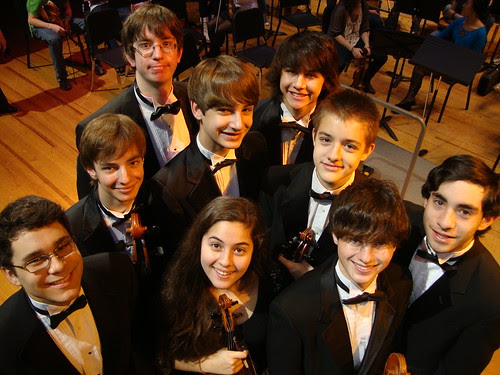 Caddo Magnet HS Orchestra concerto winners, Shreveport  by trudeau