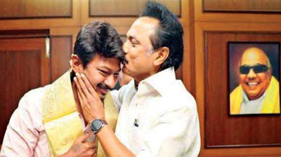 stalin and udhayanidhi