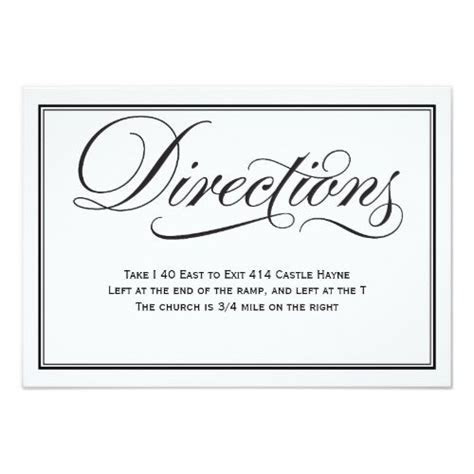 Best 25  Wedding direction cards ideas on Pinterest