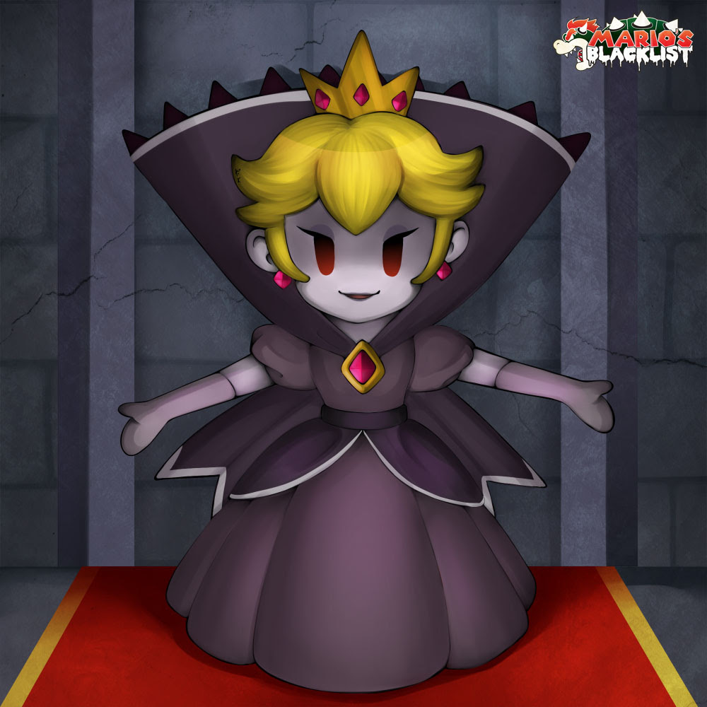 The Shadow Queen From Paper Mario The Thousand Year Door