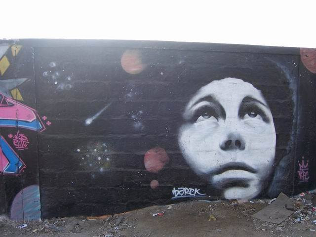 chilean grafitti - in the dirtest town on earth , so they say