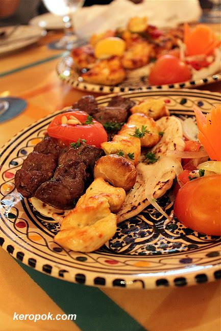 Al Hamra Mixed Grill