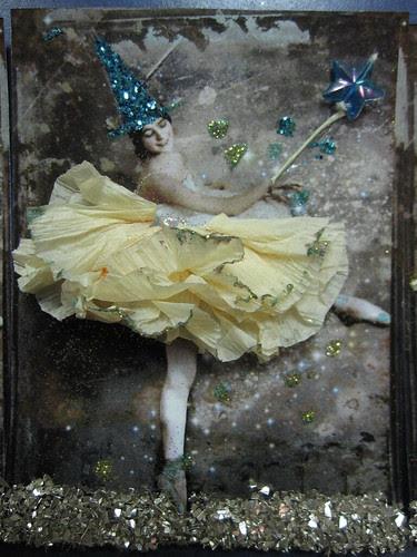 Miss Spellbinders Magic Ballet ATC! 3