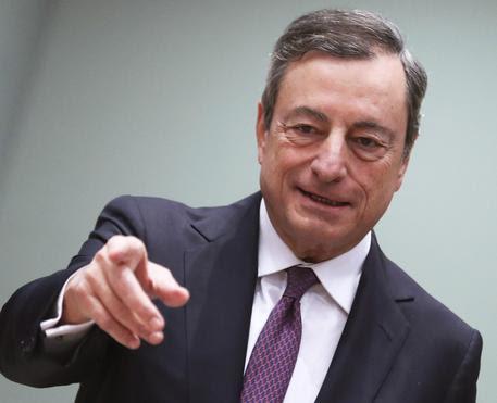 Mario Draghi (archivio) © EPA