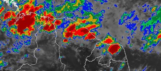 RN tem previsão de pancadas de chuvas isoladas