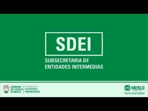 Locución en off para la Subsecretaría de Entidades Intermedias