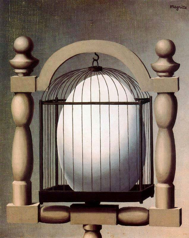 Elective Affinities, 1933 by Rene Magritte