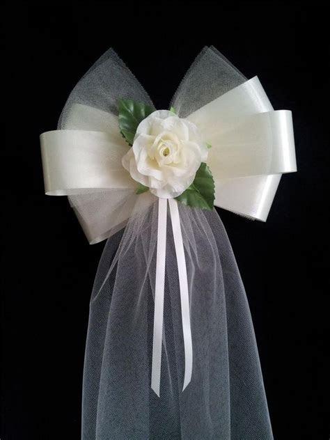 Pew Bow Ideas   Pew bow   DIY Wedding   Pinterest