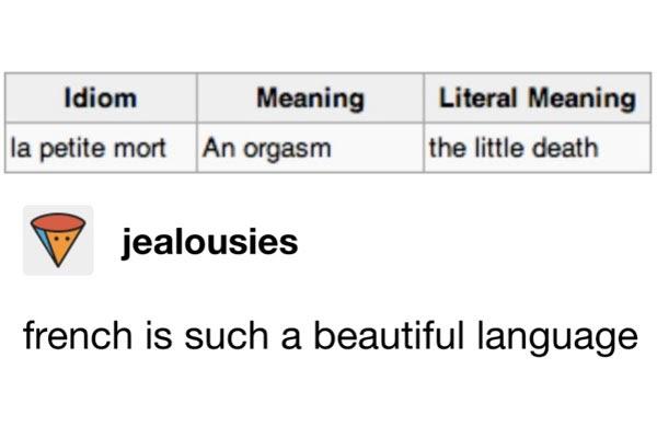 La Petite Mort Meaning