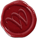 Waxwing Wax Seal Logo