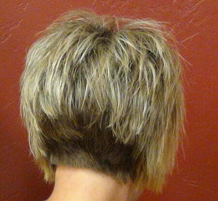 Hairstyles Bob Hairstyles Short Back Long Front