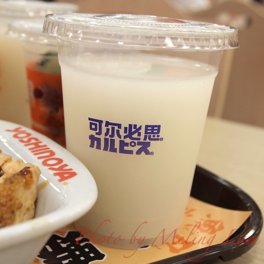 shanghai world expo food 上海世博美食 吉野家 calpis
