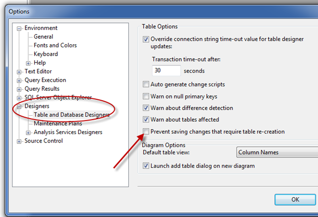 Changing The Size Of A Column In Sql Server Management Studio