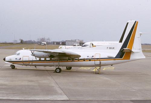 F-BIUK Uni Air Rhoose 280286