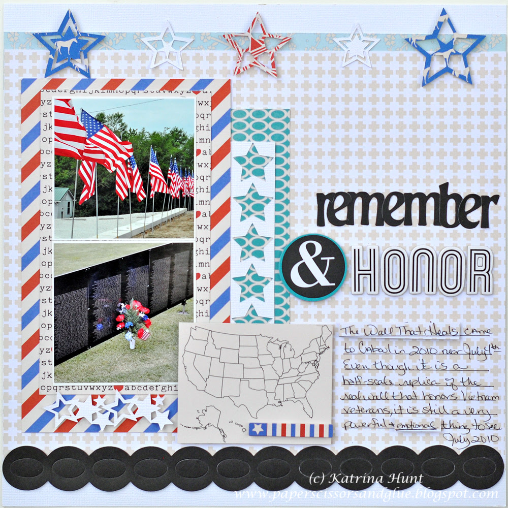 Happy 4th of July with a GCD Layout