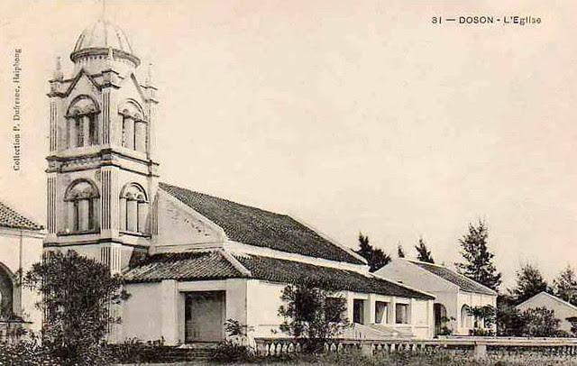 TONKIN. DOSON. L'Eglise