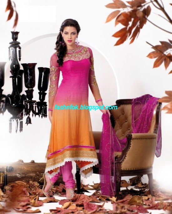 Anarkali-Churidar-Festival-Frocks-Fancy-Dress-Designs-New-Fashionable-Suits-Collection-2013-3