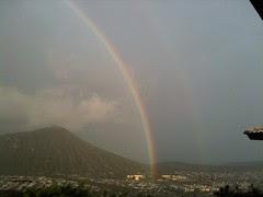 rain = rainbow