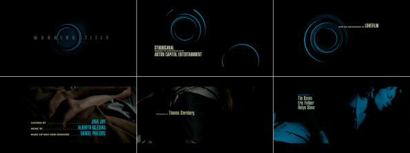 The Two Faces of January Title Design