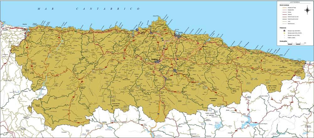 Mapa Carreteras Asturias Pdf