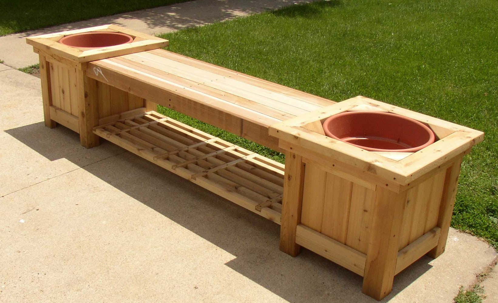 free woodworking plans garden planters ~ easy project