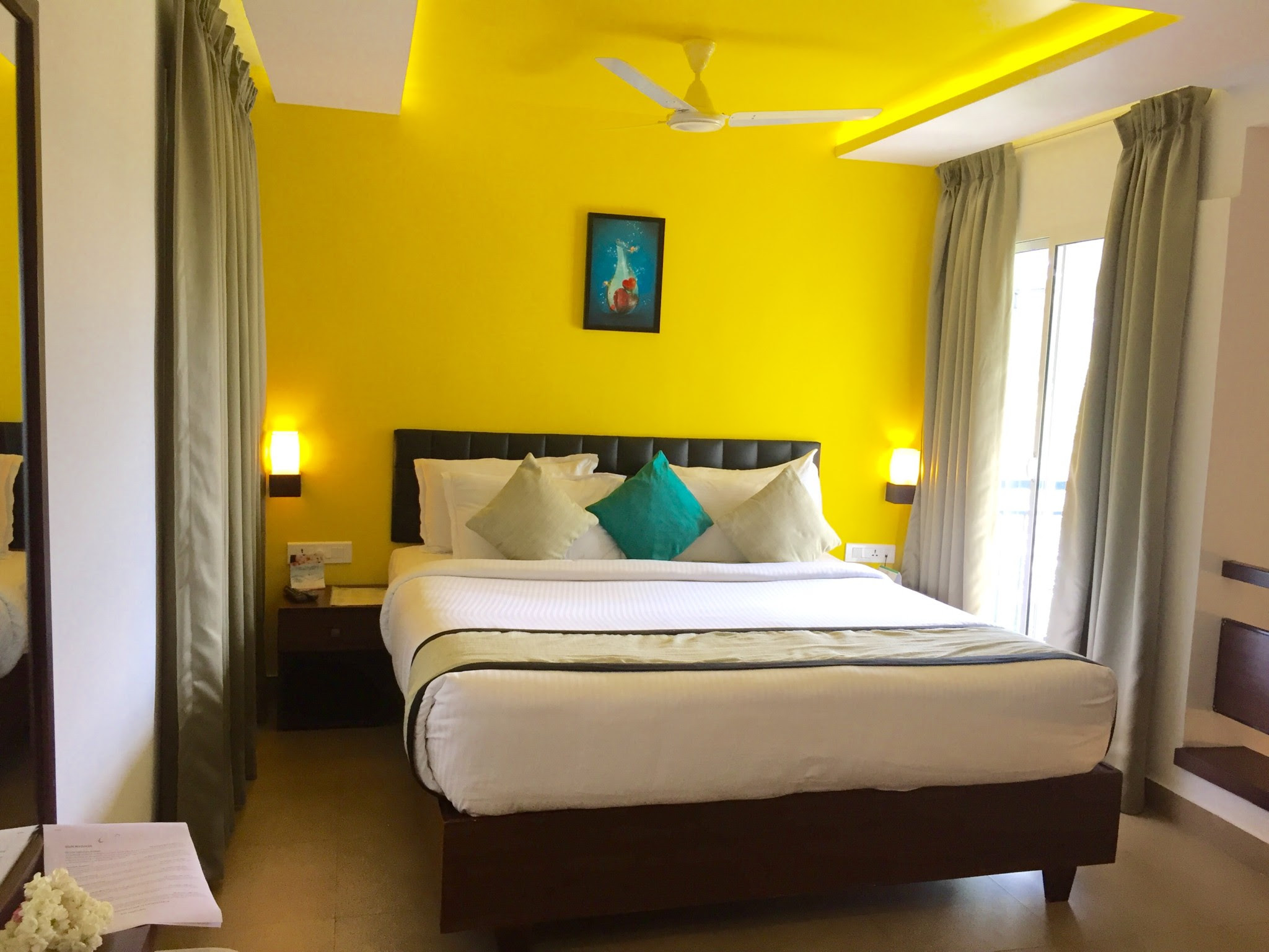 Bedroom inside-Munnar Tea Country resort-Munnar-KaynatKazi Photography-2016